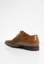 MAZERATA - Grazie wax formal shoes - dark brown