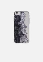 Typo - Transparent iPhone cover - black
