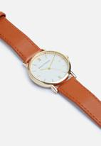 basicthread - Justin watch - brown