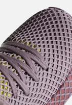 adidas Originals - Deerupt Runner W - soft vision/trace maroon/shock yellow