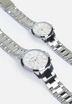Fossil - Gift set - BQ2180SET - silver