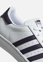adidas Originals - Superstar W - white/legend purple/black