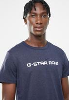 G-Star RAW - Loaq short sleeve tee - blue