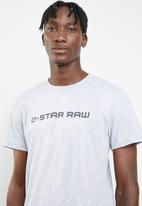 G-Star RAW - Loaq short sleeve tee  - grey