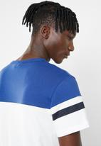 G-Star RAW - Graphic 14 short sleeve tee - white & blue