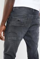 G-Star RAW - D-Staq 3-D skinny jeans - black