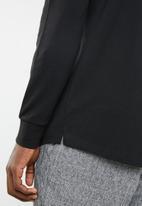 G-Star RAW - Starkon long sleeve polo - black