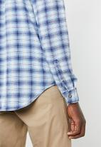 Cotton On - 91 long sleeve shirt - blue