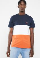 New Look - Toronto chest embroidered short sleeve tee - multi