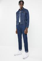 basicthread - Fashion denim trucker jacket - blue