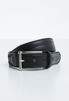Pringle - Christian leather belt - black