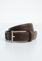 Pringle - Christian leather belt - brown