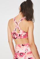 Cotton On - Workout cardio crop - pink & peach