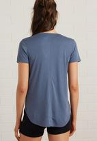 Cotton On - Gym T-shirt - blue