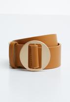 Joy Collectables - Skinny belt - tan