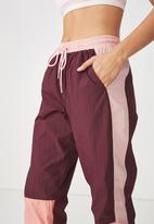 Cotton On - Crinkle trackpant - multi