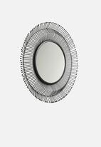 Sixth Floor - Odion mirror - black