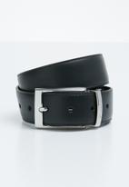 POLO - Lancaster reversible belt - black