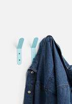 Sixth Floor - Kalifa hooks set of 3 - blue