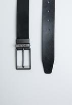 POLO - Loren reversible belt - black