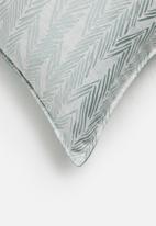 Hertex Fabrics - Feather cushion cover - blue bird