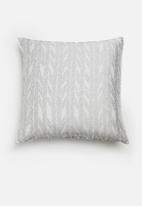 Hertex Fabrics - Feather cushion cover - mist