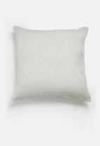 Hertex Fabrics - Aviary cushion cover - bluebird