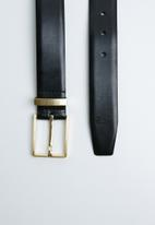 POLO - Titan belt - black