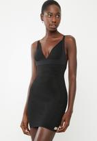 Easy Curves Shapewear - Shaper slip dress - black