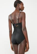 f72bc1fe7fc Control bodysuit - black Easy Curves Shapewear Bras | Superbalist.com