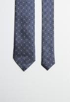 Joy Collectables - Dotty tie - navy