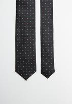Joy Collectables - Dotty tie - black