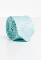 Joy Collectables - Check tie - aqua