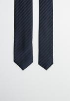 Joy Collectables - Stripe tie - navy