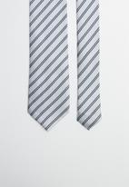 Joy Collectables - Stripe tie - blue & white