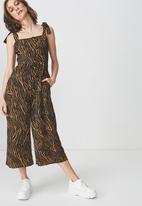 Cotton On - Woven Alexa strappy jumpsuit - multi