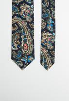 Joy Collectables - Paisley print tie - multi
