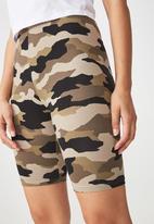 Cotton On - Bindi bike shorts - khaki