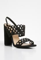 Miss Black - Kenya heel - black