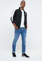 PUMA - Classics iconic T7 track jacket - black & white