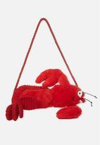 Cotton On - Plush animal bag - red