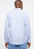 STYLE REPUBLIC - Docks striped long sleeve shirt - blue & yellow