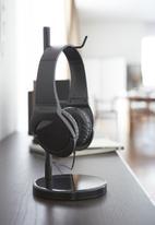 Yamazaki - Bautes headphone stand - round black