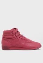 Reebok Classic - Freestyle hi face stockholm - twisted berry/white