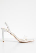 Superbalist - Harper heels - white