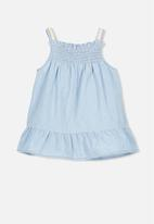 Cotton On - Claire dress - blue