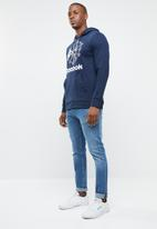 Reebok Classic - Foundation starcrest hoodie - navy