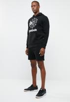 Reebok Classic - Foundation starcrest hoodie - black