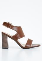 STYLE REPUBLIC - Slingback heel - brown