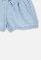 Cotton On - Stella frill short - blue